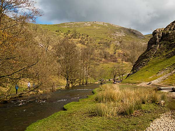 Dovedale in Derbyshire