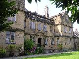 Bagshaw Hall and sleep lodge near Bakewell in the Derbyshire Peak District