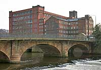 belper mills and river derwent