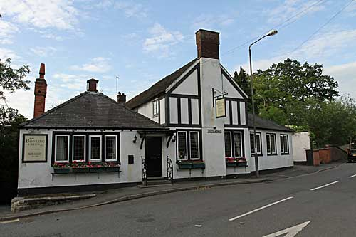 The Bowling Green Inn at Ashbourne in Derbyshire