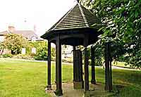 Bretby village green and water pump