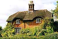 Cottage in Bretby, once an old school house