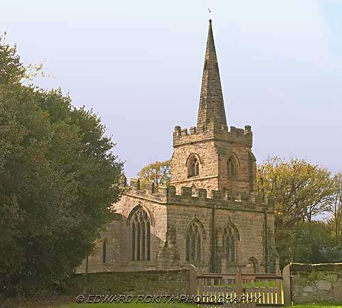 St Mary the Virgin Church at Weston on Trent in Derbyshire