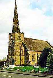 st mary's church in coton in the elms