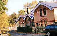 the old railway station in Coxbench