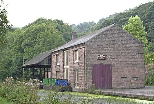 Old Warehouses along Cromford Canal