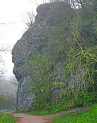 Lions Head Rock in Dovedale
