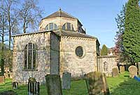 Octagonal Church at Stoney Middleton