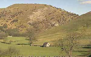Photograph from  Thorpe village near Dovedale