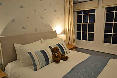 Bedroom at Derwent House,  luxury holiday accommodation at Matlock in  Derbyshire
