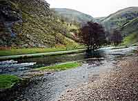 Lower reaches of Dovedale