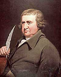 portrait of Erasmus Darwin by Joseph Wright
