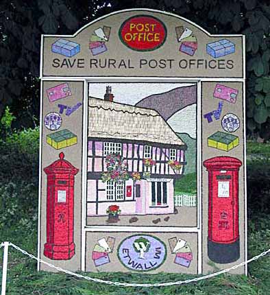 Etwall  Well Dressing 2003