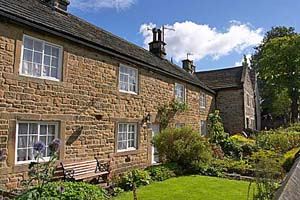 Photograph from  Eyam in Derbyshire