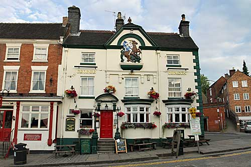 George and Dragon pub  at Ashbourne in Derbyshire