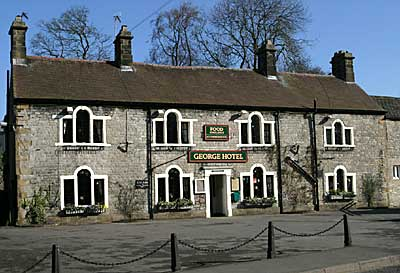 The George Hotel Restaurant in Tideswell