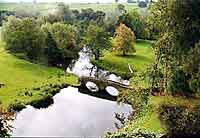 The river Wye from Haddon Hall