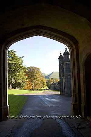 Photograph from  Ilam in Derbyshire