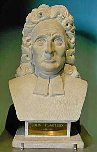 bust of John Flamsteed