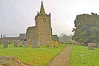 Church of St Michael at kniveton, derbyshire