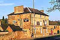 the queens arms in little eaton