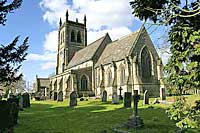 St Martins  church at Osmaston