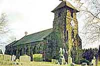 st mathew's church in overseal