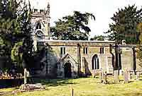 St Andrews Church in radbourne