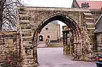 The School Gateway,the remains of the old priory
