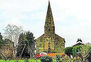 st mary's church in rosliston