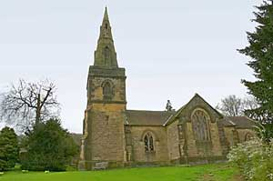 Holy Trinity church in Stanton
