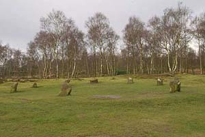Photograph from  Stanton moor