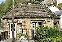 The octagonal chip shop in stoney middleton