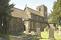 Church of All Saint Wilfred at West Hallam