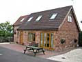 Whiteboro Lodge  holiday cottage accommodation  at Teversal  in the  Derbyshire Peak District