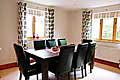 Dining area at Woodlands Cottage - Derbyshire and Peak District Accommodation