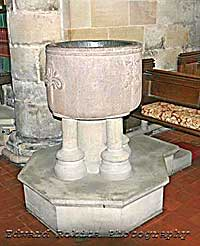 Font at Youlgrace church
